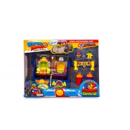SUPERZINGS Box Playset AVVENTURA 2 City Chase Inseguimento Auto 2 FIGURE ORIGINALE Super Zings Rivals of Kaboom