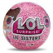 L.O.L. SURPRISE Sfera Pallina LITTLE SISTERS Sorelline SERIE 4 Ufficiale ORIGINALE LOL
