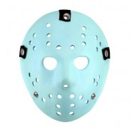 Prop Replica MASK JASON VORHEES from FRIDAY 13th GLOWS IN THE DARK Wearable Original NECA Videogame
