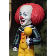 PENNYWISE 1990 Body Knocker ENERGIA SOLARE Figura 16cm da IT Clown Stephen King Originale Ufficiale NECA