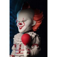 PENNYWISE 2017 Body Knocker SOLAR POWERED Figure 16cm (6.3'') From IT Clown Stephen King Original NECA