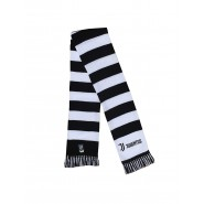 SCARF TUBULAR Original JUVENTUS New Logo JJ BLACK AND WHITE Official