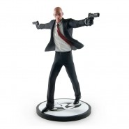 AGENT 47 Statue Figure  with base 26cm from HITMAN Original OFFICIAL Gaya