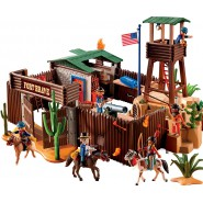 Playset GROES WESTERN FORT Game PLAYMOBIL 5245 Huge XXL Big