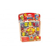 SUPERZINGS Blister Box 10 random FIGURES 1 RARE GOLD SERIES 1 ORIGINAL Super Zings SZ12301