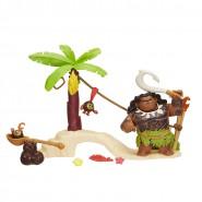 VAIANA Box Figures MAUI SEMIGOD ADVENTURE on KAKAMORA ISLAND Original HASBRO C0148 Oceania