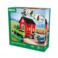 WOODEN Playset Brio 33790 Countryside Horse Set