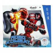 SINGLE PACK 1 x ROBO KOMBAT Electronic R/C Robot (Random Color) ORIGINAL Rocco Giocattoli SILVERLIT