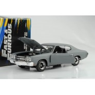 FAST and FURIOUS Model CHEVY CHEVELLE 1970 Scale 1:18 Original