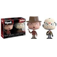 BOX Set 2 Figure FREDDY KRUEGER e JASON VORHEES 10cm Vinile Originali FUNKO Horror