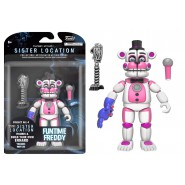 Figura Action 13cm FREDDY FUNTIME da FIVE NIGHT AT FREDDY'S FNAF SISTER LOCATION Originale FUNKO