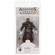 Figura Action 18cm EZIO EBONY ASSASSIN da ASSASSIN'S CREED BROTHERHOOD Originale NECA