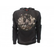 AC/DC ROCK OR BUST Hooded Sweatshirt ORIGINAL Official Sweater