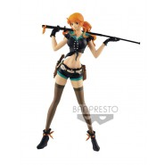 ONE PIECE Figure Statue NAMI CODE B 25cm BANPRESTO Series FLAG DIAMOND SHIP