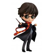 Figure Statue 14cm HARRY POTTER Black Jacket QPOSKET Hogwarts Magic Spell Wand Banpresto Version A