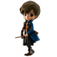 Figure Statue 14cm NEWT SCAMANDER QPOSKET Fantastic Beasts Magic Spell Wand Harry Potter Banpresto Normal Version A