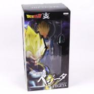 DRAGONBALL Z Figura THE VEGETA Grande 30cm SUPER Master Stars Piece BANPRESTO