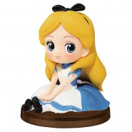 Figure Statue ALICE in Wonderland 7cm (3'') GIRLS FESTIVAL Disney PETIT QPOSKET Banpresto