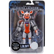Figura Action 13cm LOLBIT da FIVE NIGHT AT FREDDY'S FNAF SISTER LOCATION Originale FUNKO