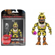 Figura Action 13cm NIGHTMARE CHICA da FIVE NIGHT AT FREDDY'S FNAF SISTER LOCATION Originale FUNKO