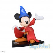 Figure Statue MICKEY MOUSE 23cm Fantasia SEGA Super Premium SPM Japan DISNEY Wizard Hat 90 years