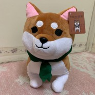 Rare PLUSH Soft Toy 30cm SHIBA Mameshiba from FINAL FANTASY 14 Original SQUARE ENIX Japan Dog
