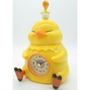 Alarm Clock FAT CHOCOBO 16cm Yellow from FINAL FANTASY XIV Online TAITO Japan