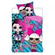 Bed Set L.O.L. LOL SURPRISE ROCKER Duvet Cover 140x200 Cotton ORIGINAL