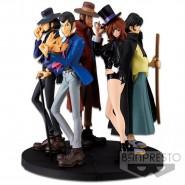 Diorama SET COMPLETO 5 Figure Statuette LUPIN CREATOR x CREATOR PART 5 Banpresto Japan