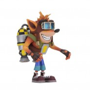 CRASH BANDICOOT con JETPACK Figura DELUXE Action 16cm Originale NECA
