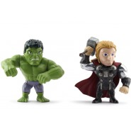 HULK and THOR Special BOX 2 Figures 10cm DieCast METAL from AVENGERS Age Of Ultron Original JADA TOYS