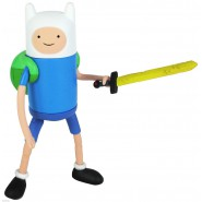 Figura Action FINN 12cm Spada Zaino ADVENTURE TIME Originale JAZWARES