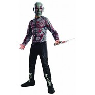 COSTUME Carnival DRAX THE DESTROYER Baby DELUXE with MUSCLES Size LARGE 8/10 Years Rubie's AVENGERS 2