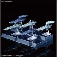 Yamato STAR BLAZERS 2202 Box SET 5 Modellini ASTRONAVI AAA-Class ANDROMEDA Kit Montaggio MECHA COLLE 07 Bandai