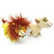 COPPIA 2 Peluche THE LION GUARD Re LEONE 17cm ORIGINALE Disney JUNIOR Kiara Simba