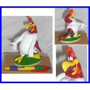 Figura Plastica FOGHORN LEGHORN Garlo Gallo 14cm Collezione DE AGOSTINI Warner Bros LOONEY TUNES