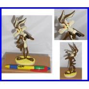 Figura Plastica WILE E. COYOTE Willy Vile 16cm Collezione DE AGOSTINI Warner Bros LOONEY TUNES
