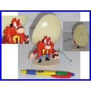Figura Plastica YOSEMITE SAM con PISTOLA 15cm Collezione DE AGOSTINI Warner Bros LOONEY TUNES