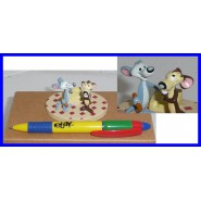 Figura Plastica HUBIE e BERTIE Topolini Collezione DE AGOSTINI Warner Bros LOONEY TUNES