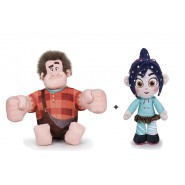 PAIR 2 PLUSH Plushies RALPH and VANELLOPE 30cm RALPH BREAKS INTERNET Wreck It Ralph 2