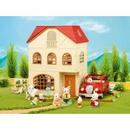 3 Story House 3 Floor and Balcony SYLVANIAN FAMILIES 2745 Epoch