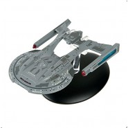 STAR TREK THUNDERCHILD Starship Ncc 63549 AKIRA Class 12cm Model DieCast EAGLEMOSS