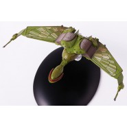 STAR TREK KLINGON BIRD OF PREY 8cm Green Model DieCast EAGLEMOSS MagStartrek004