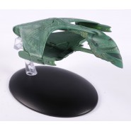 STAR TREK ROMULAN WARBIRD Starship Green War 13cm Model DieCast EAGLEMOSS