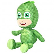 PELUCHE 22cm GECO Gecko Super Pigiamini PJ MASKS Originale e Ufficiale