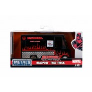 DieCast Model TACO TRUCK From Movie DEADPOOL Black/Red Scale 1/32 10cm Original JADA Toys
