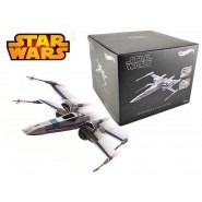Space Ship RESISTANCE X-WING FIGHTER Star Wars DIECAST Model 15cm Original HOT WHEELS ELITE DMK63