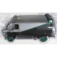 A-TEAM DieCast Model Car CHASE Version Green Wheels 12cm Van GMC VANDURA 1983 Scale 1/43 ORIGINAL Greenlight