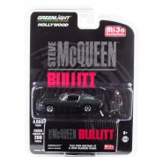 BULLIT Modello DieCast 1968 Ford MUSTANG GT con Figura Steve Mc Queen Scala 1/64 ORIGINALE Greenlight