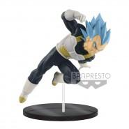 DRAGON BALL Figure Statue 18cm VEGETA GOD SS Movie SUPER BROLY Ultimate Soldiers BANPRESTO Originale